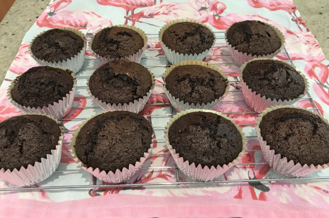 Choc cup cakes 3